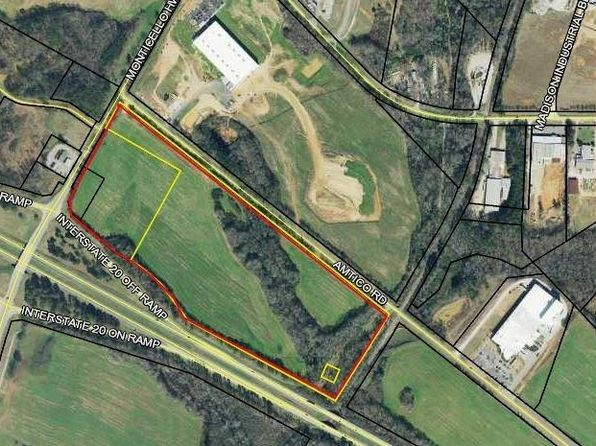 null bed null bath Vacant Land at 0 Monticello Hwy Madison, GA, 30650 is for sale at 2.80m - google static map