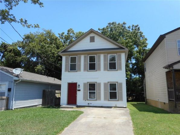 3 bed 2 bath Single Family at 205 Chamberlin Ave W Hampton, VA, 23663 is for sale at 110k - 1 of 7