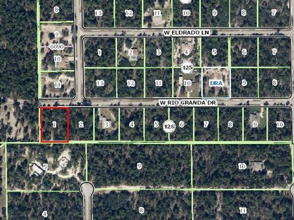 null bed null bath Vacant Land at 6480 W RIO GRANDE DR BEVERLY HILLS, FL, 34465 is for sale at 25k - 1 of 2
