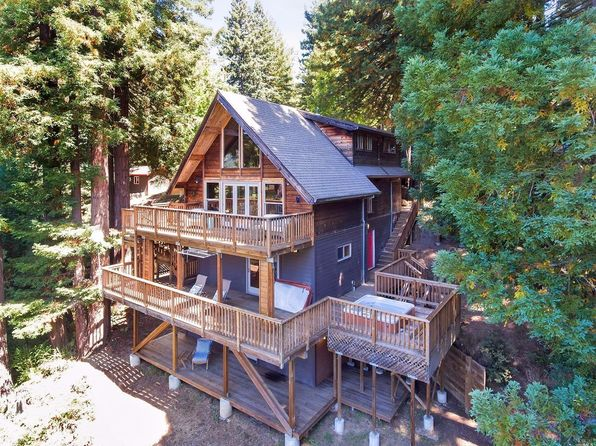 2 bed 1 bath Single Family at 105 Sequoia Ridge Rd Cazadero, CA, 95421 is for sale at 820k - 1 of 49