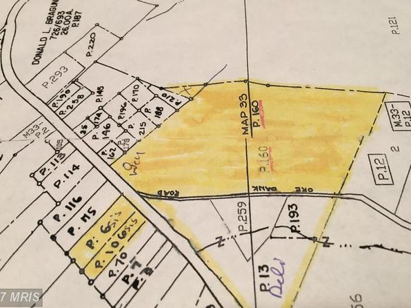 null bed null bath Vacant Land at  NATIONAL PIKE CLEAR SPRING, MD, 21722 is for sale at 275k - google static map