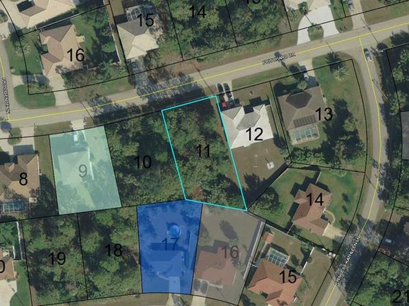 null bed null bath Vacant Land at 22 PRITCHARD DR PALM COAST, FL, 32164 is for sale at 19k - google static map