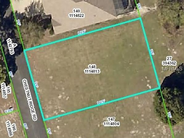 null bed null bath Vacant Land at 5444 CHESTNUT RIDGE RD RIDGE MANOR, FL, 33523 is for sale at 25k - 1 of 7