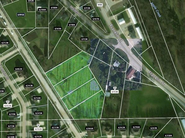 null bed null bath Vacant Land at 95 Franklin St Center Point, IA, 52213 is for sale at 90k - 1 of 3