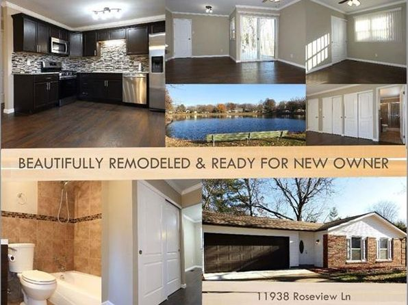 4 bed 2 bath Single Family at 11938 ROSEVIEW LN SAINT LOUIS, MO, 63138 is for sale at 130k - 1 of 58