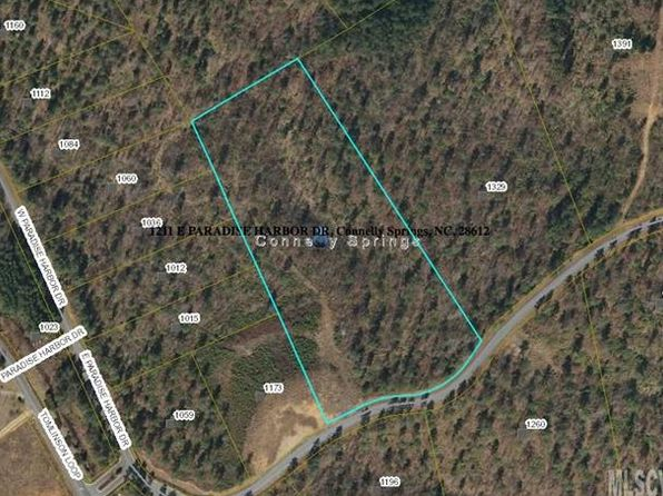 null bed null bath Vacant Land at 1211 E Paradise Harbor Dr Connelly Springs, NC, 28612 is for sale at 90k - 1 of 10