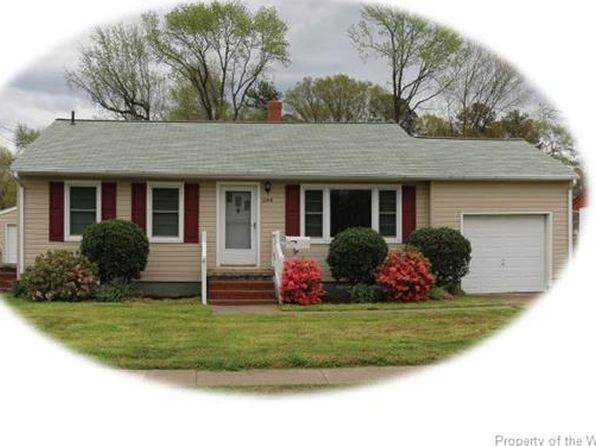 3 bed 1 bath Single Family at 644 Aberdeen Rd Hampton, VA, 23661 is for sale at 113k - 1 of 15