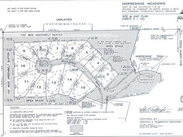 null bed null bath Vacant Land at 12 Buckaroo Trl Petoskey, MI, 49770 is for sale at 18k - google static map