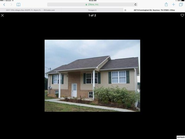 3 bed 2 bath Single Family at 407 N Cunningham Rd Seymour, TN, 37865 is for sale at 170k - google static map