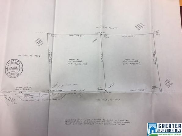 null bed null bath Vacant Land at 7059 Happy Hollow Rd Trussville, AL, 35173 is for sale at 30k - google static map