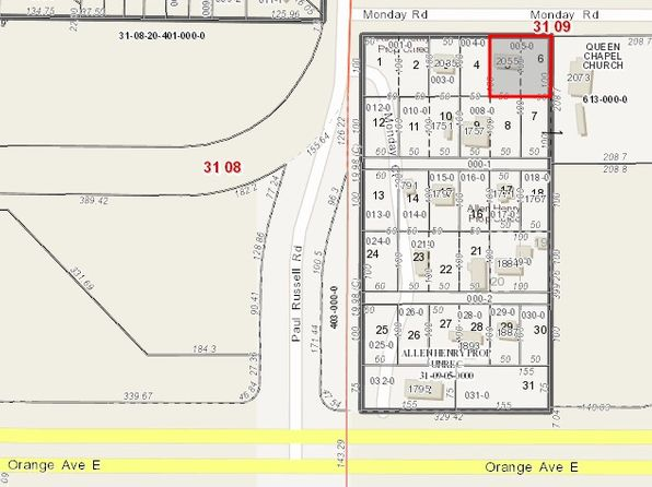 null bed null bath Vacant Land at 2055 Monday Rd Tallahassee, FL, 32301 is for sale at 21k - google static map
