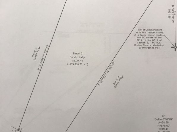 null bed null bath Vacant Land at  Lot 3 Saddle Ridge Rd Florence, MS, 39073 is for sale at 64k - google static map