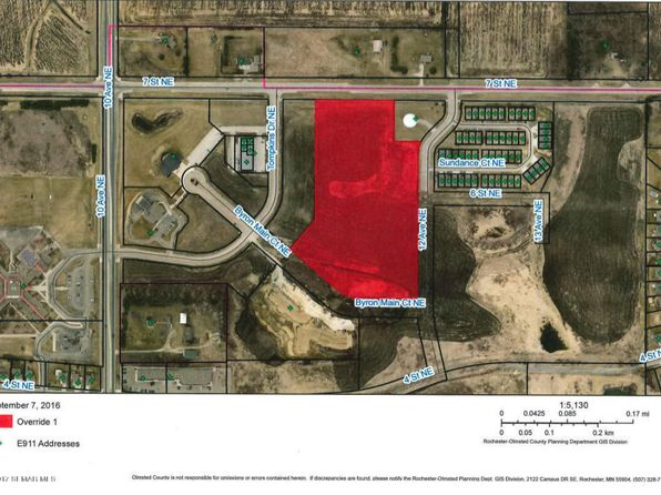 null bed null bath Vacant Land at  Xxxx 7th St Byron, MN, 55920 is for sale at 269k - google static map