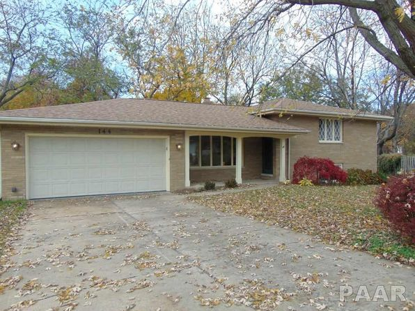 3 bed 2 bath Single Family at 144 Vonachen Ct East Peoria, IL, 61611 is for sale at 165k - 1 of 35