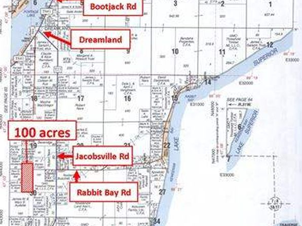 null bed null bath Vacant Land at  Jacobsville Rd Lake Linden, MI, 49945 is for sale at 119k - google static map