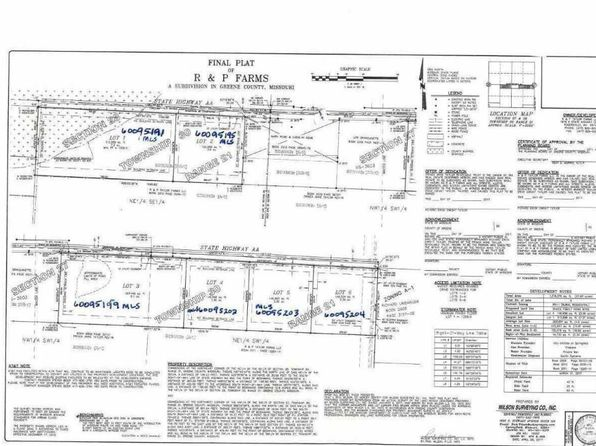 null bed null bath Vacant Land at 0 State Hwy Aa Springfield, MO, 65803 is for sale at 49k - google static map