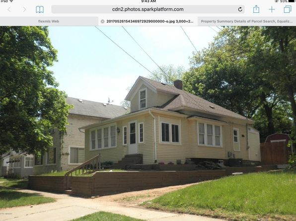 3 bed 1 bath Single Family at 129 W Maple St Kalamazoo, MI, 49001 is for sale at 65k - 1 of 12