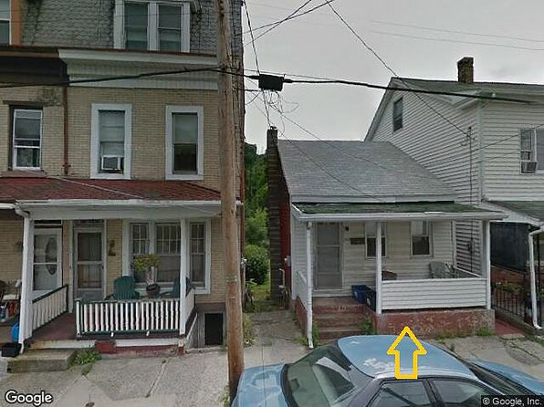 1 bed 1 bath Single Family at 363 Front St Pottsville, PA, 17901 is for sale at 45k - google static map