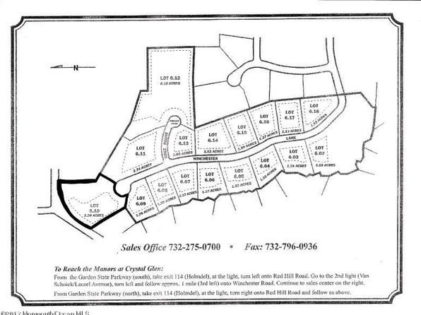 null bed null bath Vacant Land at 31 Winchester Ln Holmdel, NJ, 07733 is for sale at 785k - google static map