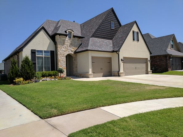 4 bed 4 bath Single Family at 521 W 127th St S Jenks, OK, 74037 is for sale at 350k - google static map