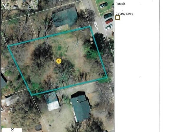 null bed null bath Vacant Land at 154 Hill St Forest City, NC, 28043 is for sale at 8k - google static map