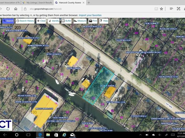 null bed null bath Vacant Land at 999 1st Ave Bay St. Louis, MS, 39520 is for sale at 8k - google static map