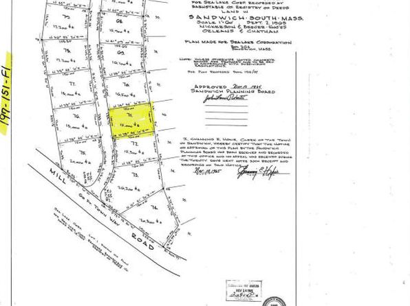 null bed null bath Vacant Land at 71 Woodridge Rd East Sandwich, MA, 02537 is for sale at 120k - 1 of 4