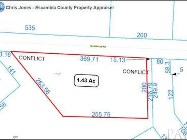 null bed null bath Vacant Land at 37 Stumpfield Rd Pensacola, FL, 32503 is for sale at 179k - google static map