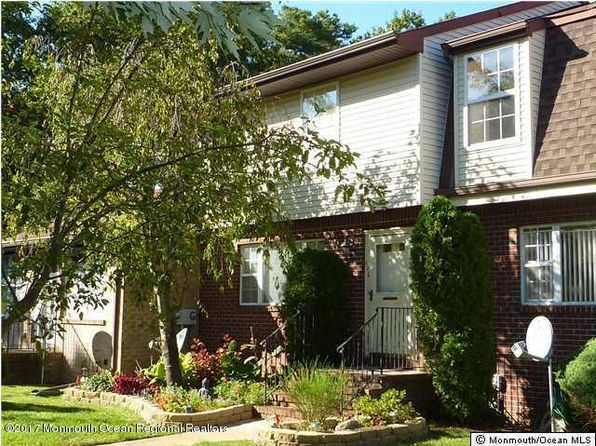 2 bed 2 bath Townhouse at 119 Camille Ct Brick, NJ, 08724 is for sale at 152k - 1 of 6