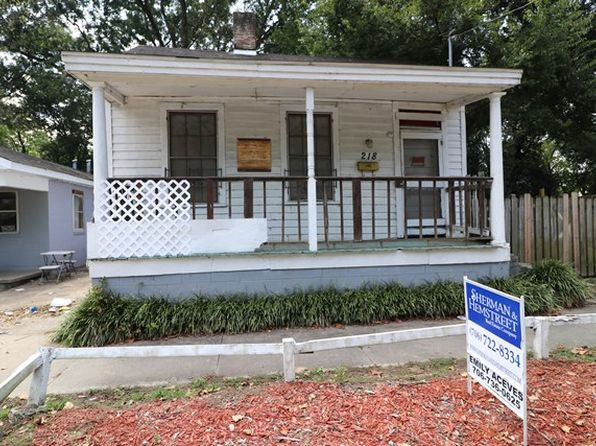 1 bed 1 bath Single Family at 218 Walker St Augusta, GA, 30901 is for sale at 10k - 1 of 2