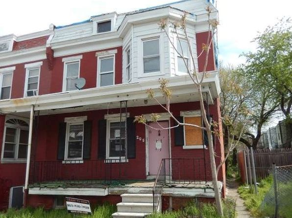 4 bed 1 bath Townhouse at 205 E 23rd St Wilmington, DE, 19802 is for sale at 6k - google static map