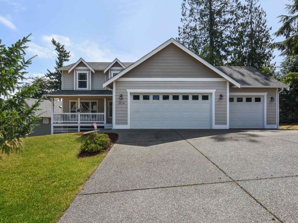 4 bed 2.5 bath Single Family at 3714 NE Trout Brook Ln Bremerton, WA, 98311 is for sale at 438k - 1 of 24