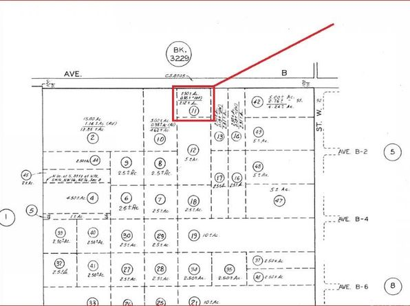 null bed null bath Vacant Land at 1 Vac/Ave B/Vic 82 Stw Antelope Acres, CA, 93536 is for sale at 36k - google static map