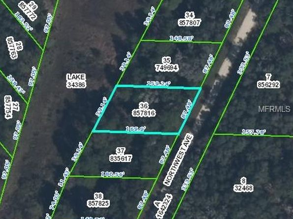 null bed null bath Vacant Land at  NORTHWEST AVE WEBSTER, FL, 33597 is for sale at 9k - google static map