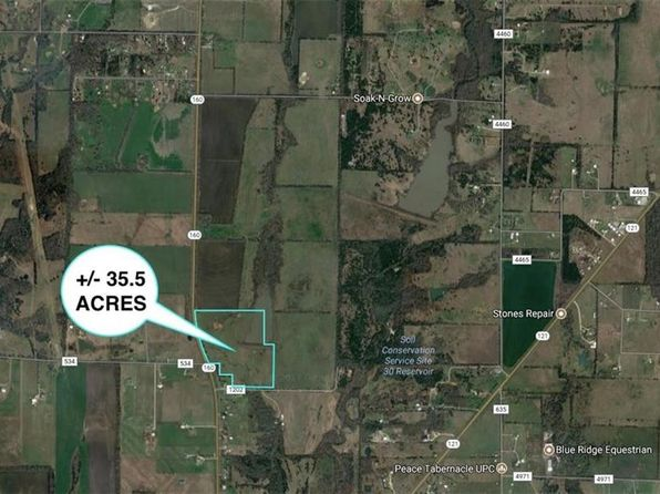 null bed null bath Vacant Land at 000 S Hwy 160/Cr Whitewright, TX, 75491 is for sale at 549k - 1 of 5