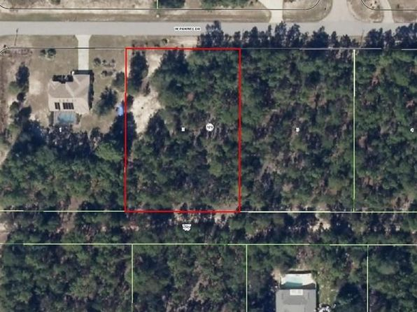 null bed null bath Vacant Land at 5886 W PAWNEE DR BEVERLY HILLS, FL, 34465 is for sale at 24k - google static map