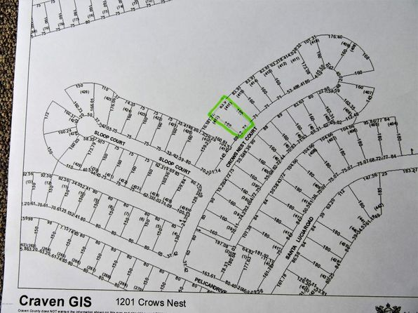 null bed null bath Vacant Land at 1201 Crows Nest Ct New Bern, NC, 28560 is for sale at 9k - 1 of 10
