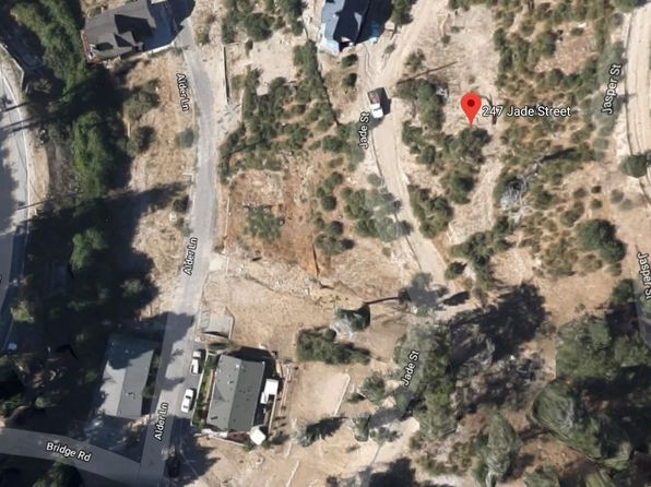 null bed null bath Vacant Land at 247 JADE ST LAKE ARROWHEAD, CA, 92352 is for sale at 7k - google static map