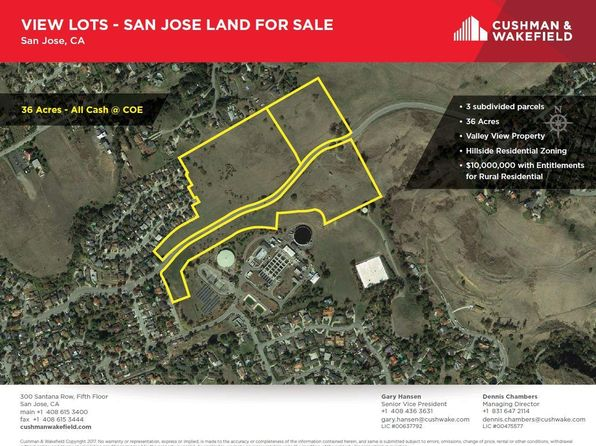 null bed null bath Vacant Land at 3513 3617 Suncrest Ave San Jose, CA, 95132 is for sale at 5.00m - 1 of 10