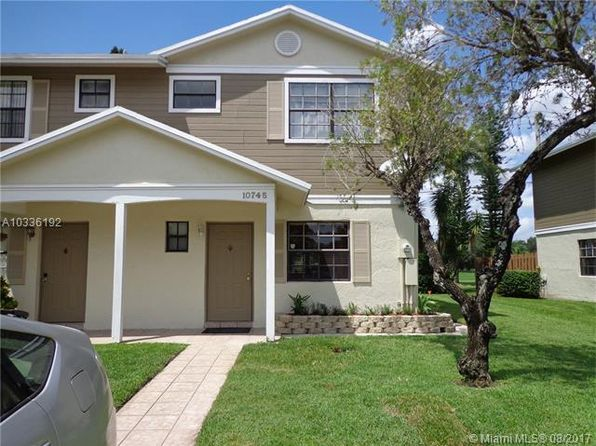 3 bed 3 bath Townhouse at 10745 NW 11th St Pembroke Pines, FL, 33026 is for sale at 269k - 1 of 26