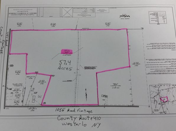null bed null bath Vacant Land at 69 County Route 410 Westerlo, NY, 12193 is for sale at 126k - google static map