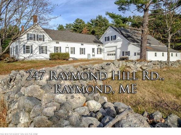 3 bed 1 bath Single Family at 247 RAYMOND HILL RD RAYMOND, ME, 04071 is for sale at 500k - 1 of 33