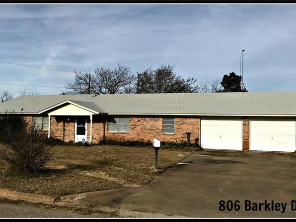 3 bed 3 bath Single Family at 806 Barkley Dr Hamilton, TX, 76531 is for sale at 135k - google static map