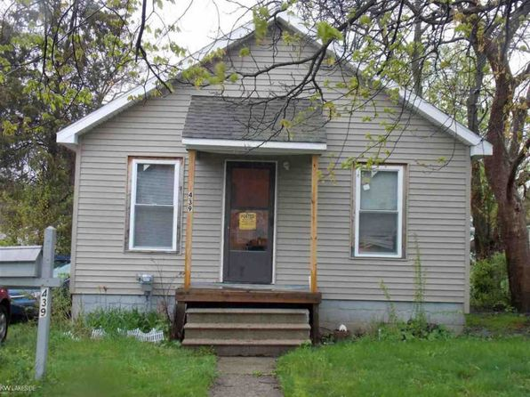 2 bed 1 bath Single Family at 439 S Anderson Ave Pontiac, MI, 48342 is for sale at 20k - 1 of 12