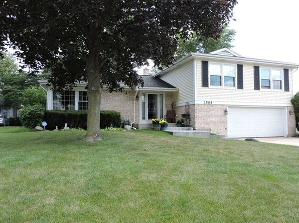 4 bed 3 bath Single Family at 1503 W Raleigh Ct Arlington Heights, IL, 60004 is for sale at 379k - 1 of 21