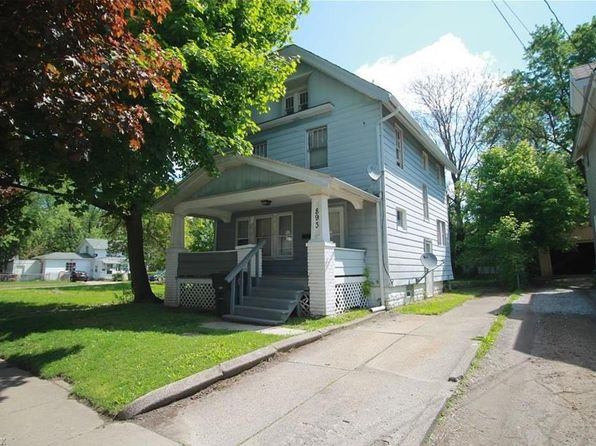 4 bed 1 bath Single Family at 893 Chalker St Akron, OH, 44310 is for sale at 57k - google static map