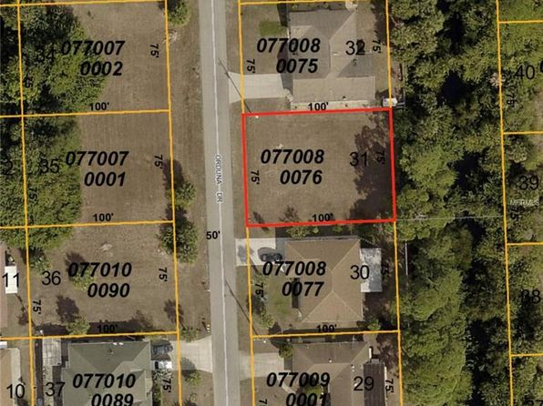 null bed null bath Vacant Land at  ORDUNA DR NORTH PORT, FL, 34287 is for sale at 16k - google static map