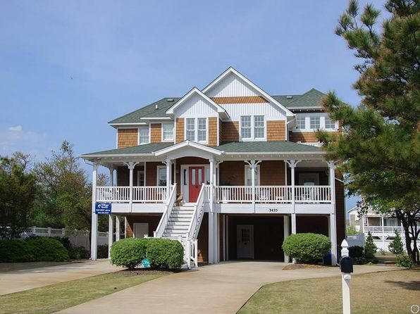 4 bed 5 bath Single Family at 3425 S Linda Ln Nags Head, NC, 27959 is for sale at 825k - 1 of 36