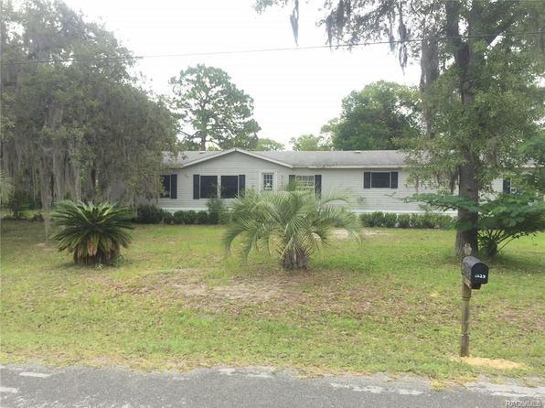 4 bed 3 bath Mobile / Manufactured at 1823 S Whitehurst Ave Homosassa, FL, 34448 is for sale at 70k - 1 of 5