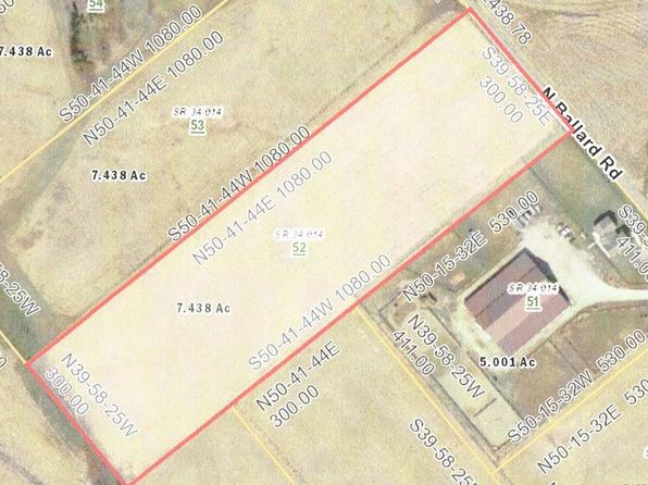 null bed null bath Vacant Land at 52 N Ballard Rd Xenia, OH, 45385 is for sale at 70k - 1 of 2